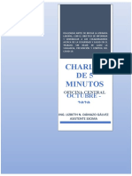 Oficina Central_Charlas de 5 Minutos-Octubre
