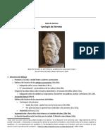 Guía de lectura - Apología de Sócrates