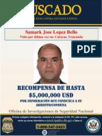 Samark López Wanted Spanish