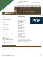 Orosur Mining - Datos de Contacto