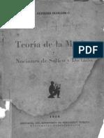 Teoria De La Musica - Nociones De Solfeo y Dictado