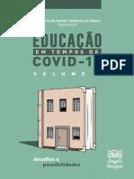 Educacao em Tempos de Covid-19 - Volume 1