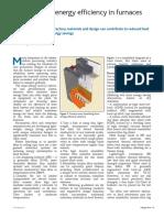 Fired Heaters - Improving energy efficiency in furnaces