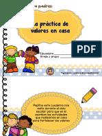 Cuadernillo para padres- proyecto valores