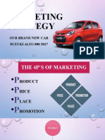 A Marketing strategy