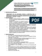 TDR PROYETISTA (ING. CIVIL) willi gomez ok actualizado