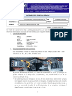 INFORME SEMIN N- 0038-2016 Reparación de Motor Electrico de 75HP CIEMSA