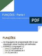 Tópico 7 - Funções Parte I