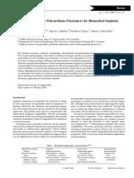 2003 Polyurethanes in Biomedical Engineering