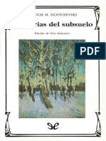 Memorias del subsuelo - Fiodor Dostoyevski.pdf