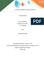 Fase 2- Prever y proponer estrategias en la planeación y organización