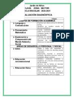Diagnóstico nivel medio 3°