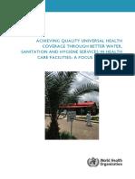 3-WHO ACHIEVING QUALITY UNIVERSAL HEALTH coverage through WASHEthiopia