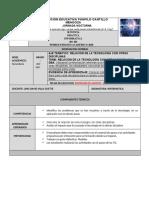 GUIA CLEI 401-404copia INFORMATICA Relación de la tecnología con otras disciplinas