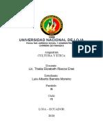 ENSAYO ETICA PROFESIONAL LUIS BARRETO