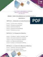 Anexo 2. Guía de lectura Referentes Teóricos