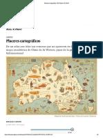 Placeres cartográficos _ El Viajero _ EL PAÍS