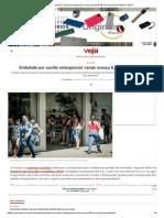 Embalado por auxílio emergencial, varejo avança 8,9% do nível pré-pandemia