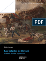 Isidro Vanegas - Las batallas de Boyacá. Hombres, mujeres, experiencias