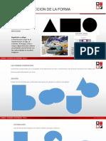 PPT - Sesion 4 - CONSTRUCCION DE LA FORMA - FUNDAMENTOS VISUALES