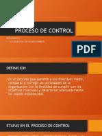 PROCESO DE CONTROL