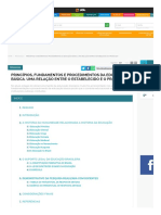 Princípios, fundamentos e procedimentos da educação básica