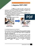 2.- DIAGRAMA PERT Y CPM PARA CLASE