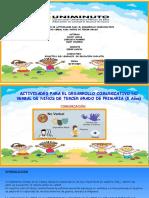 ACTIVIDADES PARA EL DESARROLLO COMUNICATIVO NO VERBAL EN EL GRADO TERCERO  SEGUNDA ENTREGA  (3)