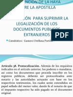 4 - Convención de la Apostilla.ppt