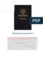 The Mysteries of Mormonism Exposed Part 2
