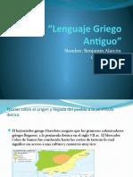 Lenguaje Griego Antiguo.pptx