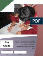 009 PRUEBA 4TO GRADO MATE.docx