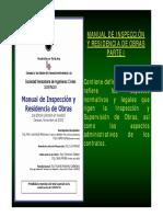 Manual de inspeccion y residencia de obras I parte
