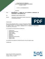 CIRCULAR DESAJCAC19-06 DEL 28 DE ENERO DE 2019