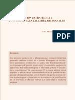 Plan de gestión estratégica-Ana María Burbano