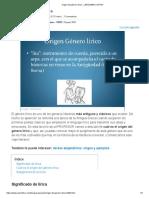 Origen del género lírico - ¡¡RESUMEN CORTO!!.pdf