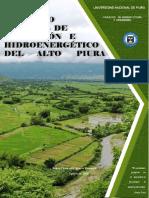 INFORME OFICIAL DEL PROYECTO HIDROENERGÉTICO DEL ALTO PIURA