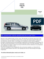 VOLVO V70 2006 User Manual