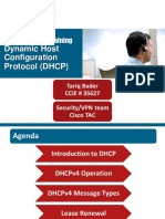 Cisco TAC Entry Training - 7 - Dynamic Host Configuration Protocol (DHCP)