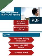 Cisco TAC Entry Training - 6 - Inter-VLAN Routing