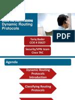 Cisco TAC Entry Training - 10 - Dynamic Routing Protocols
