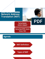 Cisco TAC Entry Training - 9 - Network Address Translation (NAT)