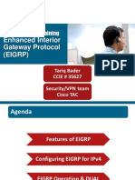 Cisco TAC Entry Training - 11 - Enhanced Interior Gateway Protocol (EIGRP)