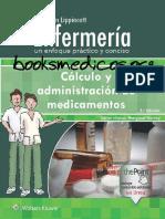Coleccion Lippincott Enfermeria. Calculo y Administracion de Medicamentos 5a Edicion