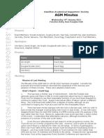 AGM 2011 Minutes