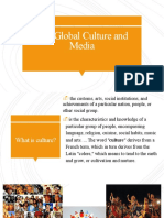 The Global Culture and Media