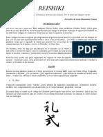 Manual del Reishiki, correct Protocol