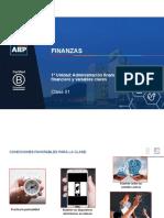 CLASE 01 Administración financiera, mercado financieros y variables claves.pdf