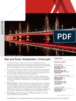 China One Belt One Road Special Report Nomura