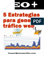 5 Estrategias Para Generar Trafico Web